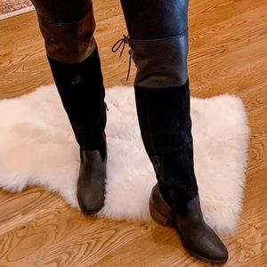 Lucky Brand OTK Leather Boots